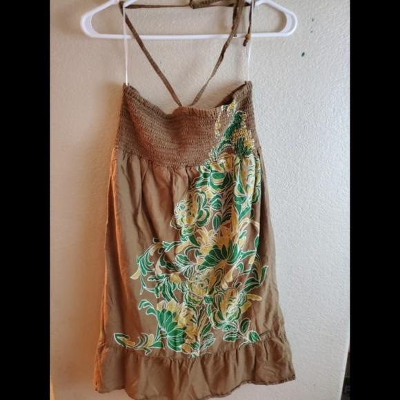 Roxy Dresses & Skirts - Roxy Floral Halter Summer Sundress Boho Dress